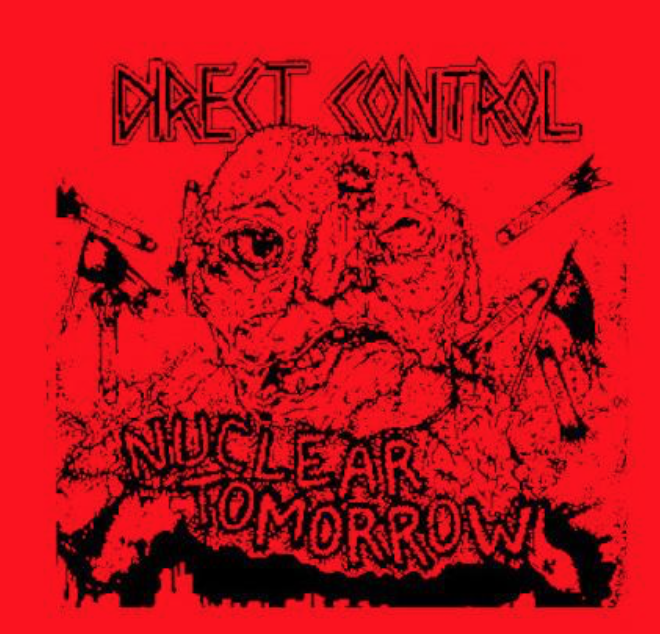DIRECT CONTROL - Nuclear Tomorrow - Back Patch